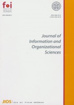 Journal of Information and Organizational Sciences,Vol. 34 No. 2