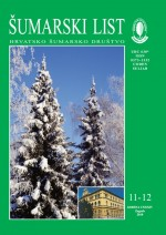 Journal of the Forestry Society of Croatia = Zeitschrift des Kroatischen Forstvereins = Revue de la Societe forestiere Croate,Vol. 134 No. 11-12