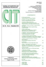 Journal of computing and information technology,Vol. 18 No. 4