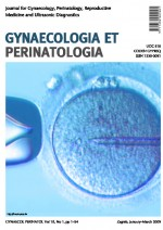 Gynaecologia et perinatologia : journal for gynaecology, perinatology, reproductive medicine and ultrasonic diagnostics,Vol. 18 No. 1