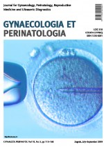 Gynaecologia et perinatologia : journal for gynaecology, perinatology, reproductive medicine and ultrasonic diagnostics,Vol. 18 No. 3
