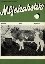 Mljekarstvo : journal for dairy production and processing improvement,Vol.17 No.8