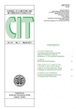 Journal of computing and information technology,Vol. 19 No. 1