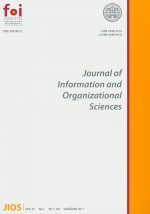 Journal of Information and Organizational Sciences,Vol. 35 No. 1