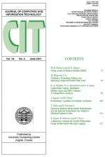 Journal of computing and information technology,Vol. 19 No. 2