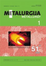 Metalurgija,Vol.51 No.1