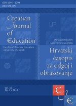 Croatian Journal of Education : Hrvatski časopis za odgoj i obrazovanje,Vol. 13 No. 2