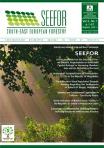 South-east European forestry,Vol.2 No.1