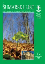 Journal of the Forestry Society of Croatia = Zeitschrift des Kroatischen Forstvereins = Revue de la Societe forestiere Croate,Vol. 136 No. 1-2