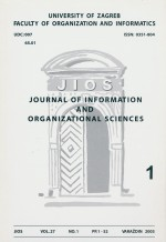 Journal of Information and Organizational Sciences,Vol. 27 No. 1