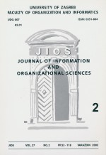 Journal of Information and Organizational Sciences,Vol. 27 No. 2