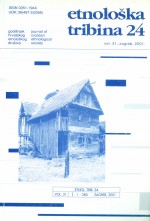 Etnološka tribina : Journal of Croatian Ethnological Society,Vol. 31 No. 24