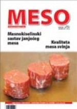 MESO : The first Croatian meat journal,Vol. XIV No. 1