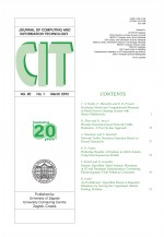 Journal of computing and information technology,Vol.20 No.1