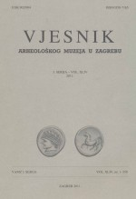 Journal of the Archaeological Museum in Zagreb,Vol. 44 No. 1