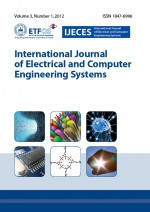 International journal of electrical and computer engineering systems,Vol. 3. No. 1.