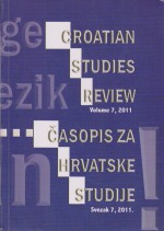 Croatian Studies Review,Vol. 7 No. 1