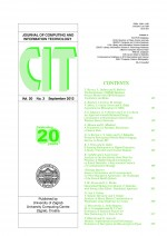 Journal of computing and information technology,Vol. 20 No. 3