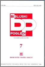 Biblijski pogledi,Vol. 4 No. 1