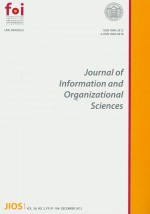 Journal of Information and Organizational Sciences,Vol. 36 No. 2