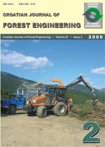 Croatian Journal of Forest Engineering : Journal for Theory and Application of Forestry Engineering,Vol. 27 No. 2
