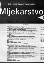Mljekarstvo : journal for dairy production and processing improvement,Vol. 42 No. 3