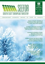 South-east European forestry,Vol.3 No.1