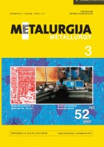Metalurgija,Vol. 52 No. 3