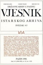 Journal of Istrian Archive,Vol. 4-5 No. (1994.-1995.)