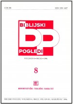 Biblijski pogledi,Vol. 4 No. 2