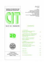 Journal of computing and information technology,Vol. 20 No. 4