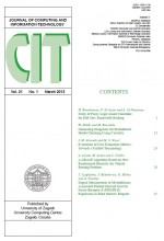 Journal of computing and information technology,Vol. 21 No. 1