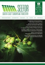 South-east European forestry,Vol.4 No.1