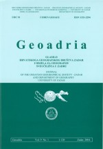 Geoadria,Vol. 9 No. 1