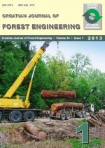 Croatian Journal of Forest Engineering : Journal for Theory and Application of Forestry Engineering,Vol. 34 No. 1