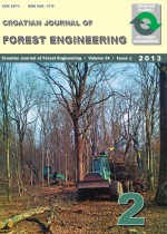 Croatian Journal of Forest Engineering : Journal for Theory and Application of Forestry Engineering,Vol. 34 No. 2