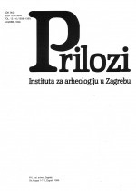Contributions of Institute of Archaeology in Zagreb,Vol. 15/16 No. -