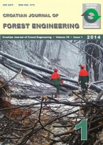 Croatian Journal of Forest Engineering : Journal for Theory and Application of Forestry Engineering,Vol. 35 No. 1