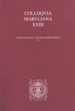 Colloquia Maruliana ...,Vol.23 No.23