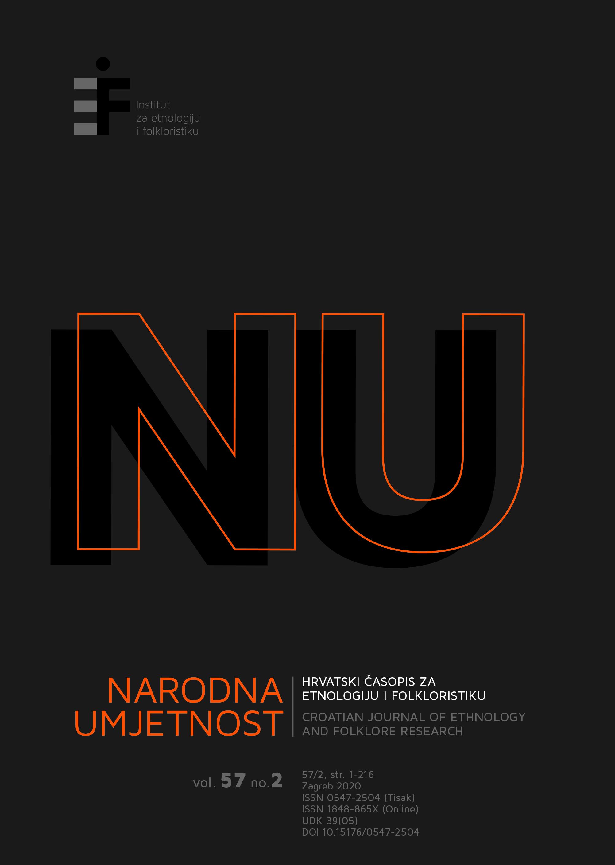 Pogledaj Svezak 57 Br. 2 (2020): Narodna umjetnost