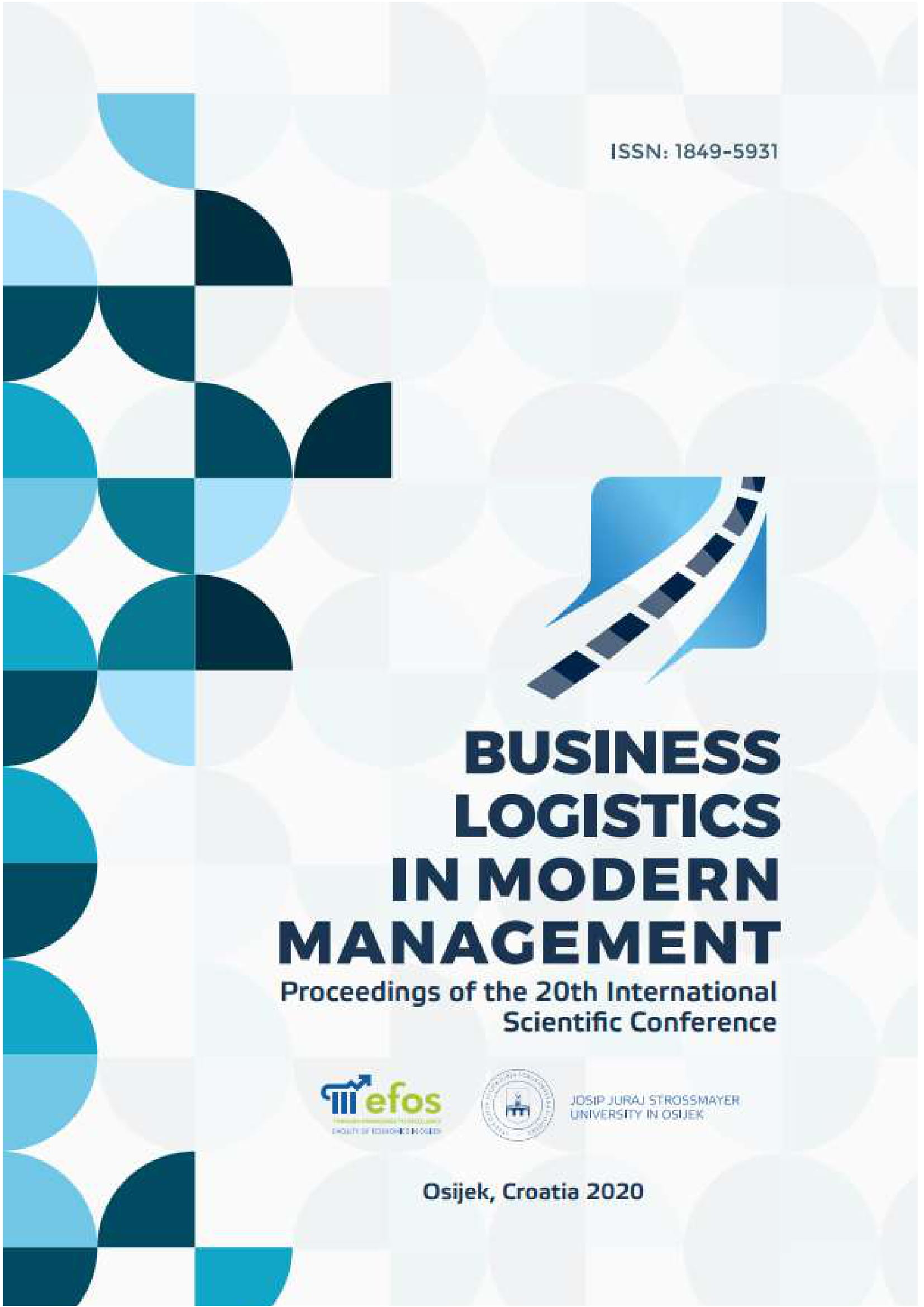 View 2020: Proceedings of The 20th International Scientific Conference Business Logistics in Modern Management