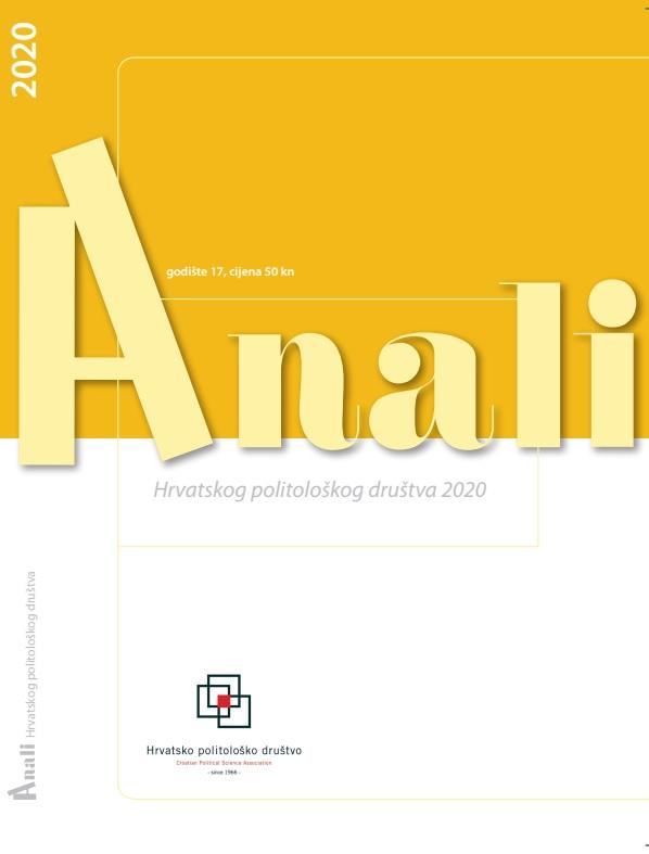 Pogledaj Svezak 17 Br. 1 (2020): Anali Hrvatskog politološkog društva : časopis za politologiju, Vol. 17 No. 1, 2020.