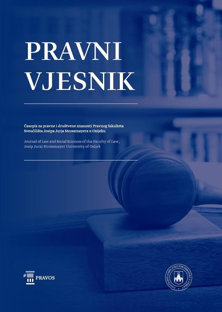 View Vol. 37 No. 1 (2021): Special issue: Consensual Justice in Croatian Criminal Procedure