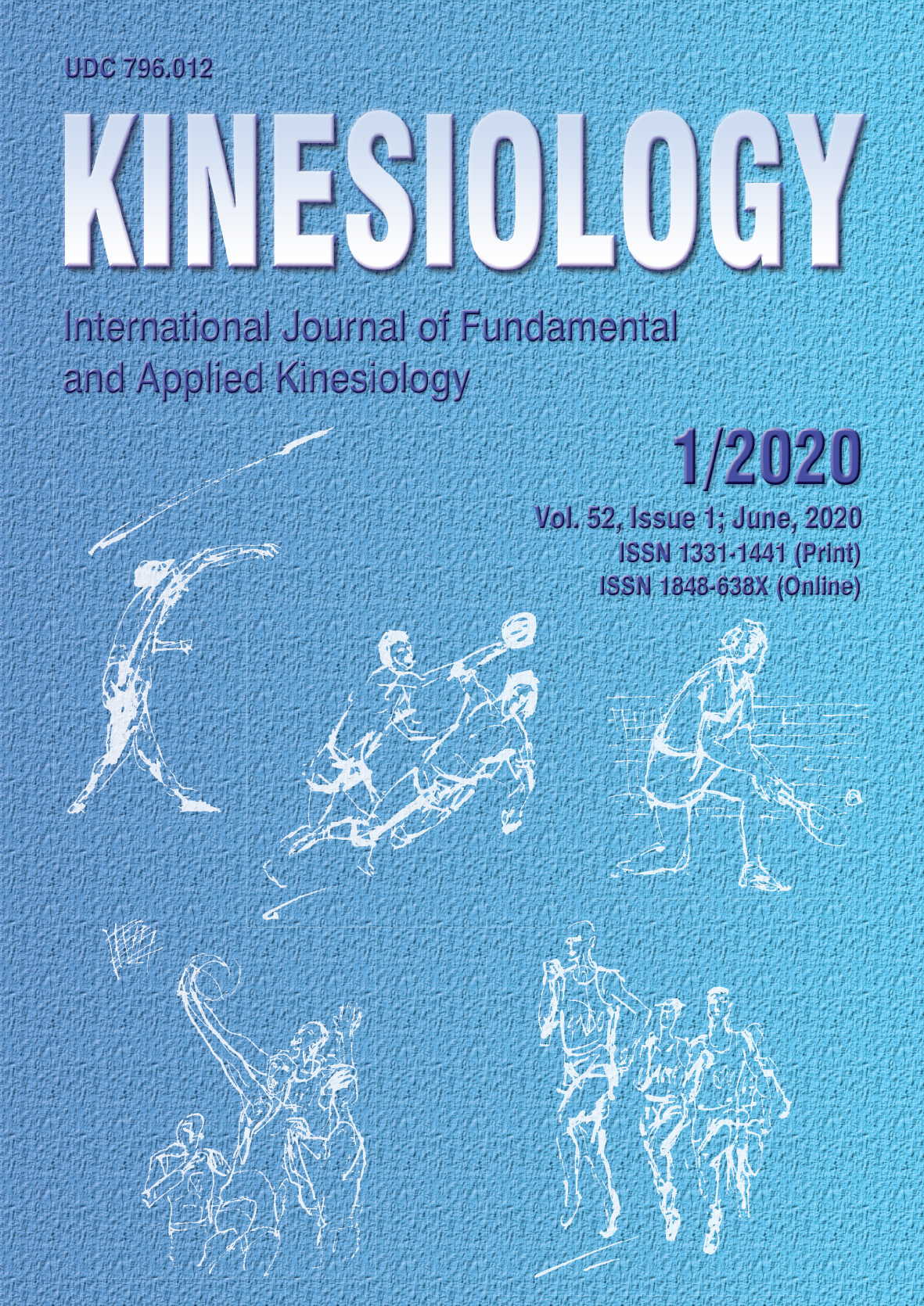 View Vol. 52 No. 01 (2020): KINESIOLOGY