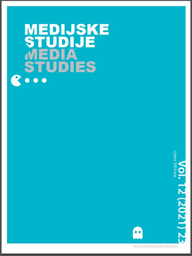 View Vol. 12 No. 23 (2021): Media Studies Vol. 12 No. 23 (2021)