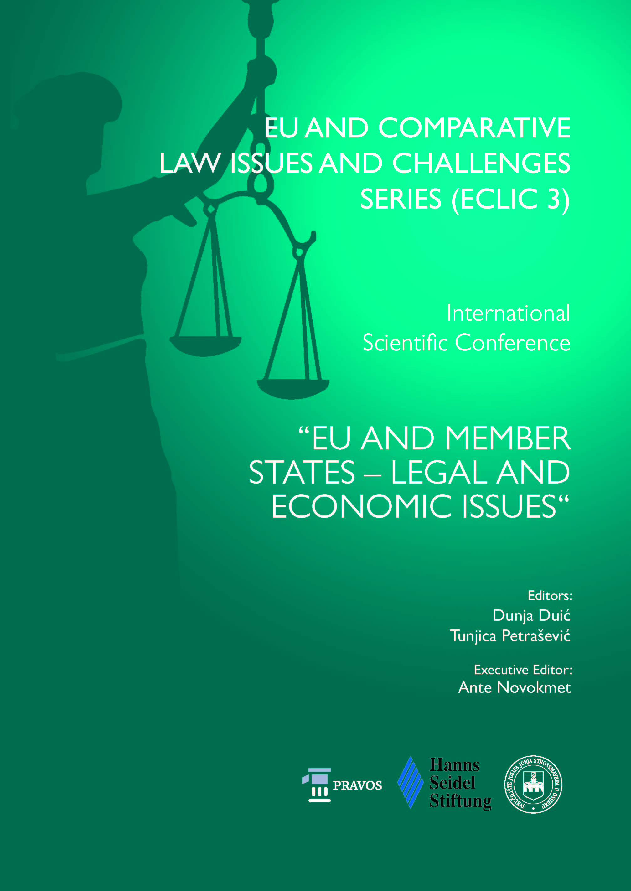 View Vol. 3 (2019): EU AND MEMBER STATES – LEGAL AND ECONOMIC ISSUES