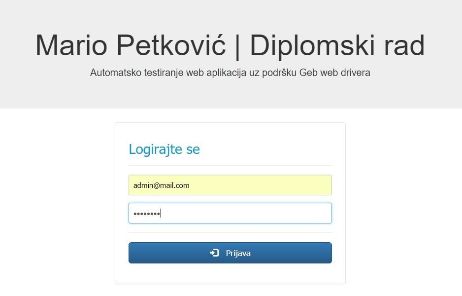 Je web stranica samo traženje zakonita